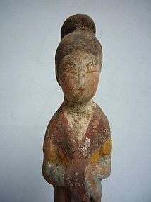 Tang Dynasty Pottery Lady