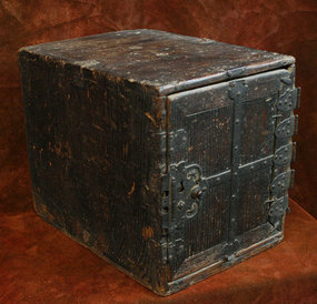 Edo Period Japanese Safe