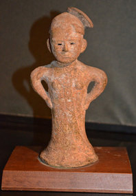 Rare 4th Century Kofun Period Female Haniwa Figure