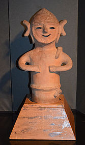 Very Rare 3rd Century Male Haniwa from Honolulu Museum