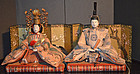 Japanese Dairi-bina Imperial Couple Girl