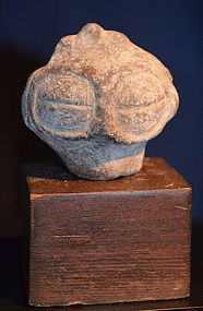 2nd Century BC Jomon Period Japanese Dogu Head