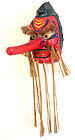 Large, Powerful Tengu Mask by Renowned Artisan Hashimoto Yoshinobu