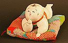 Meiji Period Hai Hai Ningyo, Japanese Crawling Doll