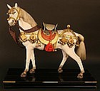 Fine Quality Japanese Boys Day Horse Doll