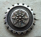 Fine Fully Hallmarked British Brooch Decorative Silver