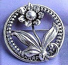 Danecraft Sterling Silver Brooch c. 1940's
