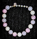Large Bead Choker w/ Lovely Large Beads - Purple