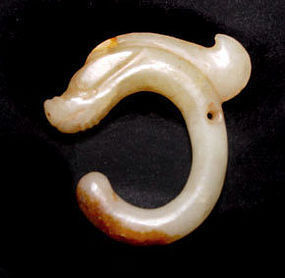 Chinese Jade Pig Dragon - Hongshan Type