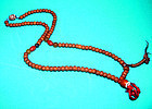 Tibetan Mala Wood Prayer Beads From Lhasa Tibet