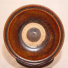 Vietnamese Annamese Brown Plate - 14th Century