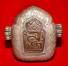 Tibetan Silver Prayer Box