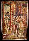 Original Old Chinese Cigarette Poster w/ Three Women