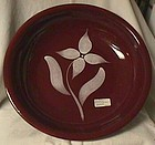 Watt Starflower Maroon Spaghetti Bowl