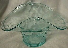 Fenton Diamond Optic Aqua Basket