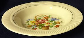 Victory Basket Cereal Bowl Salem China