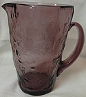 Crinkle Amethyst Martini Pitcher 6.5