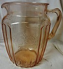 Mayfair Pink Pitcher 8.5