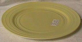 Moderntone Yellow Dinner Plate