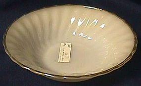 Fire King Golden Shell Soup Bowl
