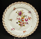Lovely Antique Donath Dresden Scalloped Platter
