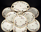 11 Antique Haviland & Co. Limoges Dessert Plates