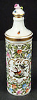 Wonderful Herend Double Walled Porcelain Perfume Bottle
