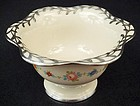 Antique Lenox Silver Overlay Bowl