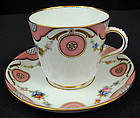 Fine Antique Minton Tea Cup & Saucer