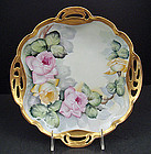 Antique Rosenthal Serving Dish with Roses