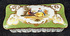 Antique Klemm Dresden Scenic Box
