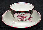Antique Nymphenburg Demitasse Cup & Saucer