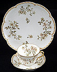 Haviland Limoges Demitasse Cup & Saucer with Plate