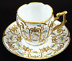Sweet Sevres Style Demitasse Cup & Saucer