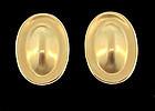 Vintage Angela Cummings 18K Yellow Gold Earrings
