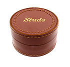 1930s Leather Studs Box