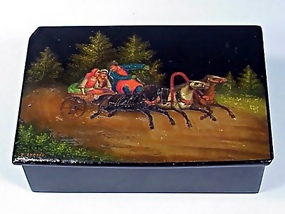 Imperial Russian Lacquer Box