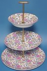 Chintz 3-tier Cake Stand Royal Tudor