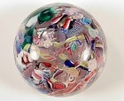 New England Glass Company Scrambled Glass Paperweight