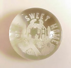 "South Jersey ""Home Sweet Home"" Frit Glass Paperweight"