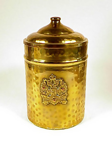 Imperial Russian Double Eagle Brass Humidor