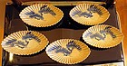 Japanese studio Kyoto plate set 5