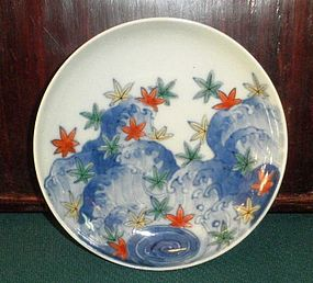 Beautiful Japanese nabeshima atyle plate
