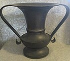 Japanese bronze flower vase beautifl shape