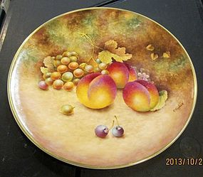 Beautiful royal worcester Fruit plate