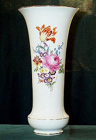 Great Large Meissen flower vase