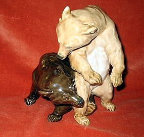 Very fine Meissen Germany Bear