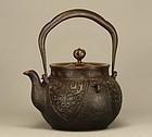 Japanese Tetsubin Iron Teapot Kettle