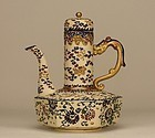 Japanese Satsuma MORIAGE Dragon Teapot