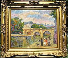 Impressionist Banks of the Seine: Lucien Neuquelman